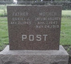 POST, DANIEL J.  - Pasco County, Florida | DANIEL J.  POST - Florida Gravestone Photos