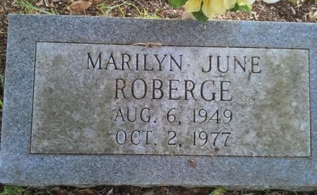 ROBERGE, MARILYN JUNE - Pasco County, Florida | MARILYN JUNE ROBERGE - Florida Gravestone Photos