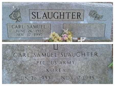 SLAUGHTER (VETERAN KOR), CARL SAMUEL (NEW) - Pasco County, Florida | CARL SAMUEL (NEW) SLAUGHTER (VETERAN KOR) - Florida Gravestone Photos