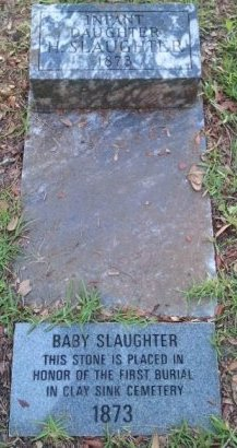 SLAUGHTER, INFANT DAUGHTER - Pasco County, Florida | INFANT DAUGHTER SLAUGHTER - Florida Gravestone Photos
