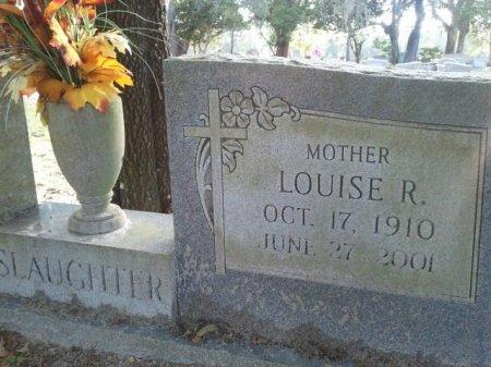 SLAUGHTER, LOUISE R.  - Pasco County, Florida | LOUISE R.  SLAUGHTER - Florida Gravestone Photos
