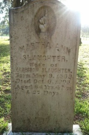 SLAUGHTER, MARTHA ANN - Pasco County, Florida | MARTHA ANN SLAUGHTER - Florida Gravestone Photos