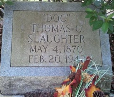 "SLAUGHTER, THOMAS O. ""DOC"" - Pasco County, Florida 
