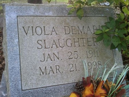 SLAUGHTER, VIOLA DEMARIE  - Pasco County, Florida | VIOLA DEMARIE  SLAUGHTER - Florida Gravestone Photos
