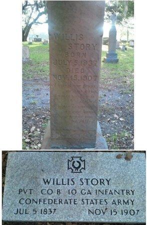 STORY (VETERAN CSA), WILLIS (NEW) - Pasco County, Florida | WILLIS (NEW) STORY (VETERAN CSA) - Florida Gravestone Photos