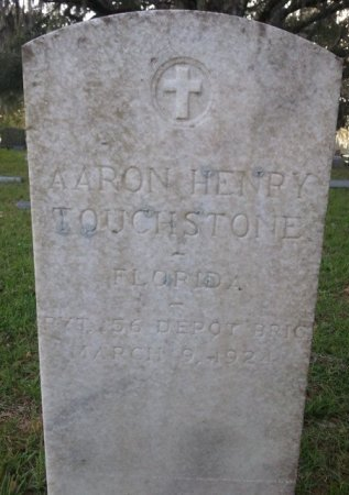 TOUCHSTONE (VETERAN WWI), AARON HENRY (NEW) - Pasco County, Florida | AARON HENRY (NEW) TOUCHSTONE (VETERAN WWI) - Florida Gravestone Photos