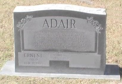 ADAIR, ERNEST - Pinellas County, Florida   ERNEST ADAIR - Florida Gravestone Photos