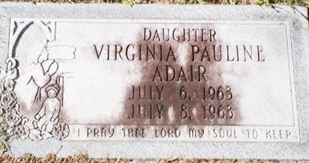 ADAIR, VIRGINIA PAULINE - Pinellas County, Florida   VIRGINIA PAULINE ADAIR - Florida Gravestone Photos
