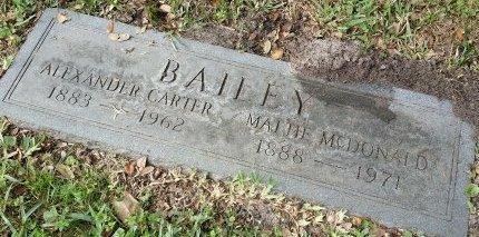 MCDONALD BAILEY, MATTIE - Pinellas County, Florida | MATTIE MCDONALD BAILEY - Florida Gravestone Photos