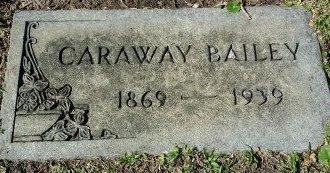 BAILEY, CARAWAY - Pinellas County, Florida | CARAWAY BAILEY - Florida Gravestone Photos