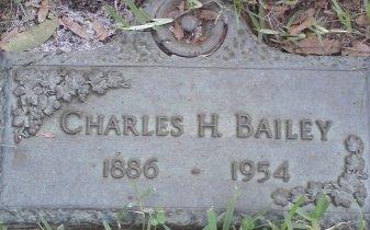 BAILEY, CHARLES HERBERT - Pinellas County, Florida | CHARLES HERBERT BAILEY - Florida Gravestone Photos