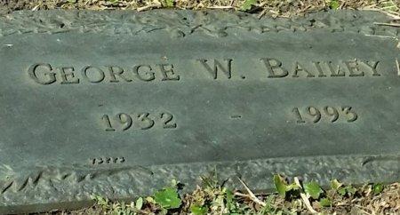 BAILEY, GEORGE WOODROW - Pinellas County, Florida | GEORGE WOODROW BAILEY - Florida Gravestone Photos