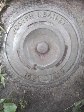BAILEY, JOSEPH IRVIN - Pinellas County, Florida   JOSEPH IRVIN BAILEY - Florida Gravestone Photos