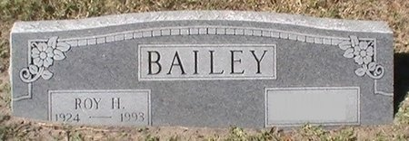 BAILEY, ROY H. - Pinellas County, Florida | ROY H. BAILEY - Florida Gravestone Photos