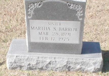 BARROW, MARTHA S. - Pinellas County, Florida   MARTHA S. BARROW - Florida Gravestone Photos