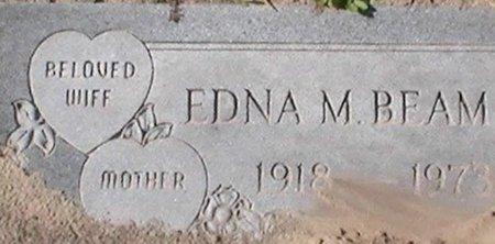 BEAM, EDNA M - Pinellas County, Florida | EDNA M BEAM - Florida Gravestone Photos