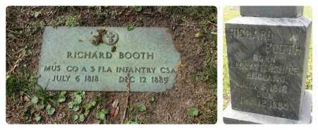 BOOTH (VETERAN CW), RICHARD J (NEW) - Pinellas County, Florida | RICHARD J (NEW) BOOTH (VETERAN CW) - Florida Gravestone Photos
