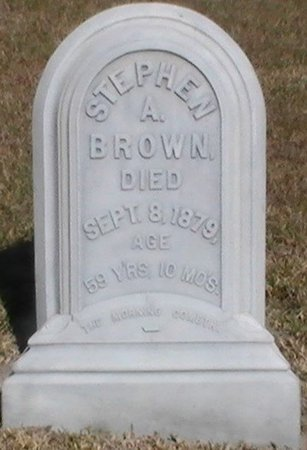 BROWN, STEPHEN A. - Pinellas County, Florida | STEPHEN A. BROWN - Florida Gravestone Photos