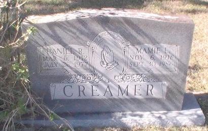 CREAMER, DANIEL R. - Pinellas County, Florida | DANIEL R. CREAMER - Florida Gravestone Photos