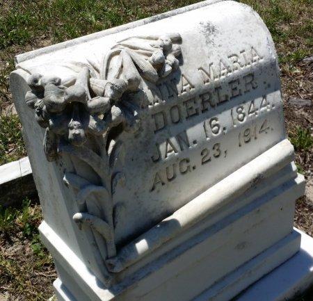 DOERLER, ANNA MARIA - Pinellas County, Florida   ANNA MARIA DOERLER - Florida Gravestone Photos