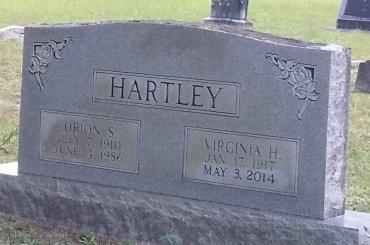 HERNDON HARTLEY, VIRGINIA - Pinellas County, Florida | VIRGINIA HERNDON HARTLEY - Florida Gravestone Photos