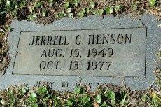 HENSON, JERRELL G. - Pinellas County, Florida | JERRELL G. HENSON - Florida Gravestone Photos