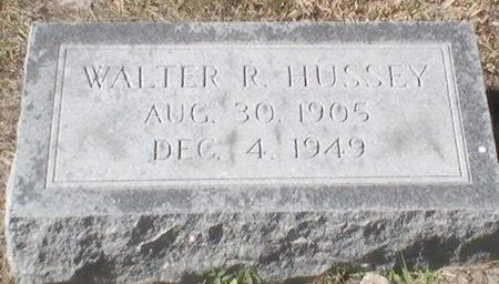 HUSSEY, WALTER R. - Pinellas County, Florida | WALTER R. HUSSEY - Florida Gravestone Photos