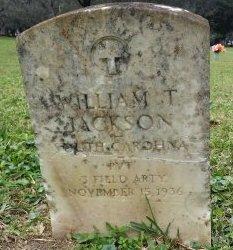 JACKSON (VETERAN), WILLIAM T. (NEW) - Pinellas County, Florida | WILLIAM T. (NEW) JACKSON (VETERAN) - Florida Gravestone Photos