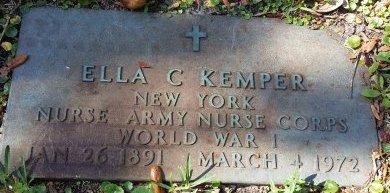 KEMPER (VETERAN WWI), ELLA C. (NEW) - Pinellas County, Florida | ELLA C. (NEW) KEMPER (VETERAN WWI) - Florida Gravestone Photos