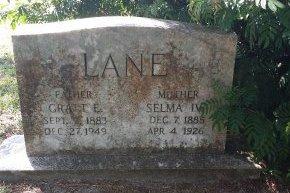 LANE, GRATT ERASTUS - Pinellas County, Florida | GRATT ERASTUS LANE - Florida Gravestone Photos