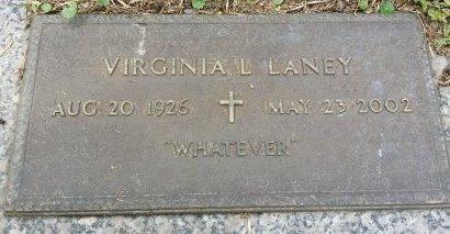 LANEY, VIRGINIA L. - Pinellas County, Florida   VIRGINIA L. LANEY - Florida Gravestone Photos