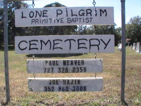 *LONE PILGRIM PRIMITIVE BAPTIS, CEMETERY - Pinellas County, Florida | CEMETERY *LONE PILGRIM PRIMITIVE BAPTIS - Florida Gravestone Photos