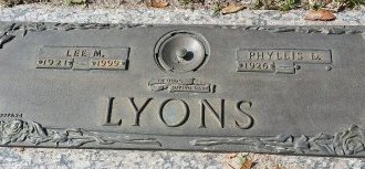 LYONS, PHYLLIS - Pinellas County, Florida | PHYLLIS LYONS - Florida Gravestone Photos