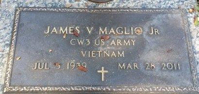 MAGLIO, JR (VETERAN VIET), JAMES V. (NEW) - Pinellas County, Florida | JAMES V. (NEW) MAGLIO, JR (VETERAN VIET) - Florida Gravestone Photos