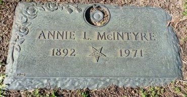 BAILEY MCINTYRE, ANNIE LAURA - Pinellas County, Florida | ANNIE LAURA BAILEY MCINTYRE - Florida Gravestone Photos
