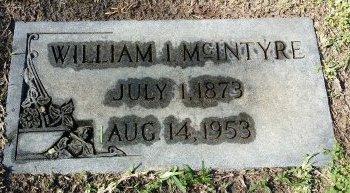 MCINTYRE, WILLIAM I. - Pinellas County, Florida | WILLIAM I. MCINTYRE - Florida Gravestone Photos