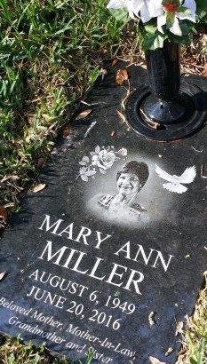 MILLER, MARY ANN - Pinellas County, Florida | MARY ANN MILLER - Florida Gravestone Photos