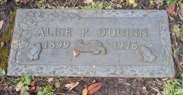 NICHOLS O'QUINN, ALICE PHOEBE - Pinellas County, Florida | ALICE PHOEBE NICHOLS O'QUINN - Florida Gravestone Photos
