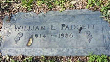 PADGETT, WILLIAM E. - Pinellas County, Florida | WILLIAM E. PADGETT - Florida Gravestone Photos