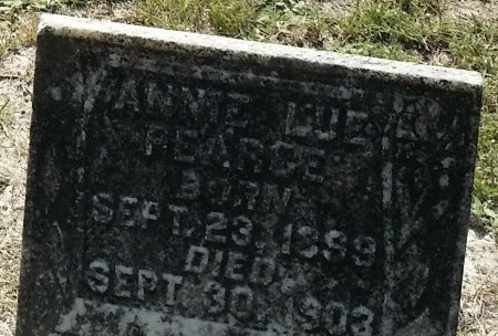 PEARCE, ANNIE LUE - Pinellas County, Florida | ANNIE LUE PEARCE - Florida Gravestone Photos