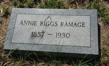 RIGGS RAMAGE, ANNIE - Pinellas County, Florida | ANNIE RIGGS RAMAGE - Florida Gravestone Photos