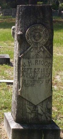 RIGGS, J. H. - Pinellas County, Florida | J. H. RIGGS - Florida Gravestone Photos