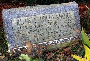 STOLL SHORT, RUTH - Pinellas County, Florida | RUTH STOLL SHORT - Florida Gravestone Photos