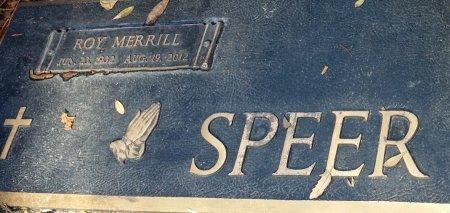 SPEER, ROY MERRILL - Pinellas County, Florida   ROY MERRILL SPEER - Florida Gravestone Photos