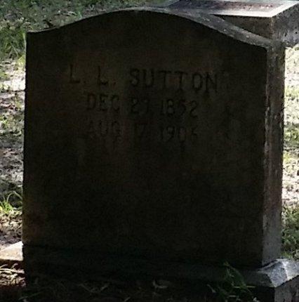 SUTTON, LEMUEL LAW - Pinellas County, Florida | LEMUEL LAW SUTTON - Florida Gravestone Photos