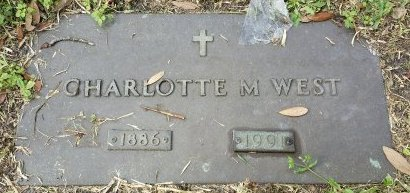 WEST, CHARLOTTE M. - Pinellas County, Florida | CHARLOTTE M. WEST - Florida Gravestone Photos