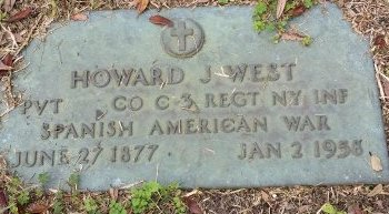 WEST (VETERAN SAW), HOWARD J. (NEW) - Pinellas County, Florida | HOWARD J. (NEW) WEST (VETERAN SAW) - Florida Gravestone Photos