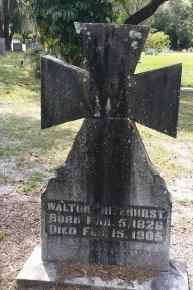WHITEHURST (VETERAN CSA), WALTON (NEW) - Pinellas County, Florida | WALTON (NEW) WHITEHURST (VETERAN CSA) - Florida Gravestone Photos