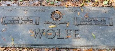 WOLFE, JOHN C. - Pinellas County, Florida   JOHN C. WOLFE - Florida Gravestone Photos
