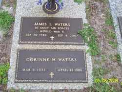WATERS (VETERAN WWII), JAMES LEE - Polk County, Florida | JAMES LEE WATERS (VETERAN WWII) - Florida Gravestone Photos